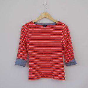 Nautica Ladies' Knit Boat Neck, 3/4 sleeve Shirt